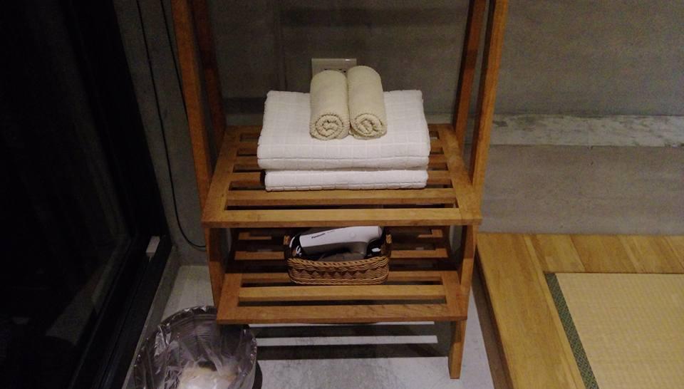 整理整頓されたタオル