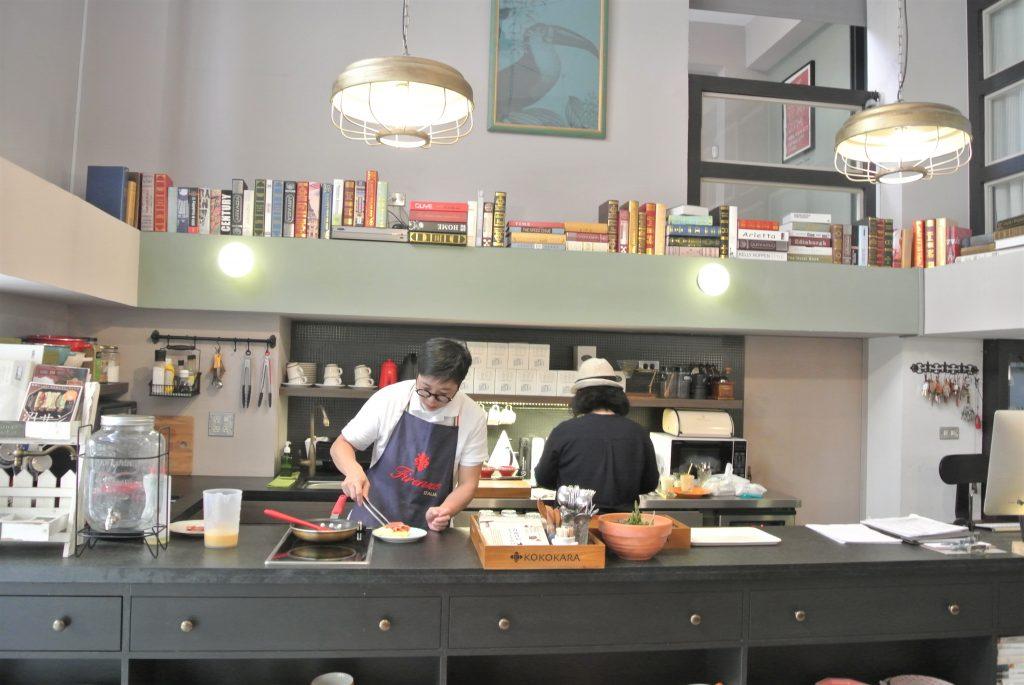 台南のホテル「KOKOKARA 小步洋樓」朝食