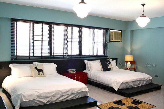 台南のホテル「KOKOKARA 小步洋樓」部屋