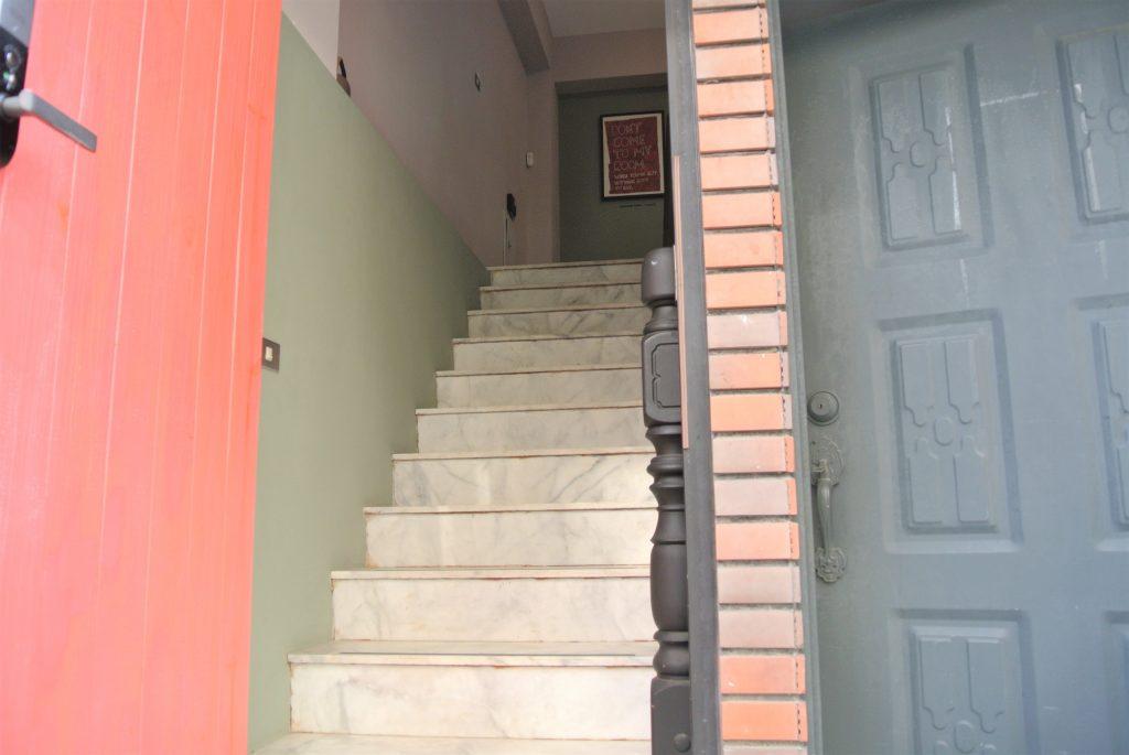 台南のホテル「KOKOKARA 小步洋樓」入り口