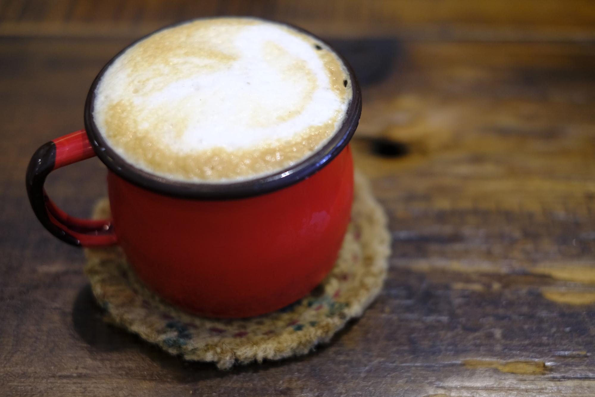おいしいカフェラテ