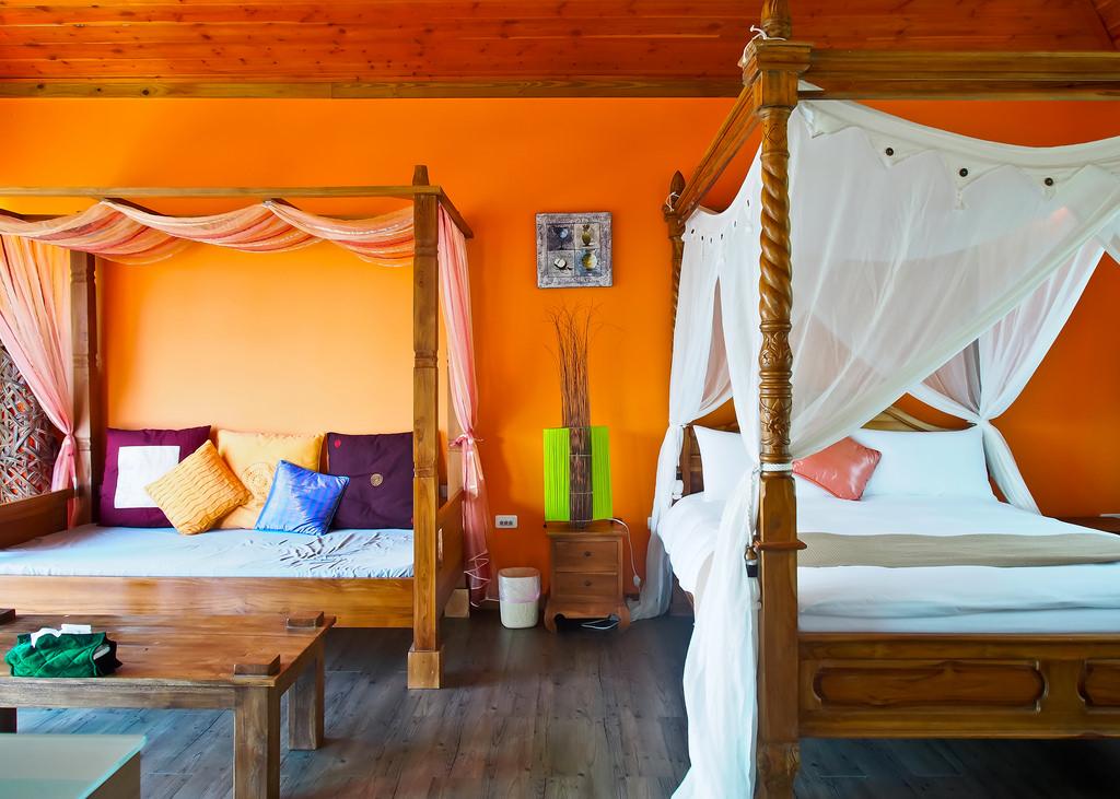 花蓮で南国リゾート気分を満喫!バリ島のヴィラのようなお部屋で過ごす優雅なひととき「峇里情人」(花蓮)